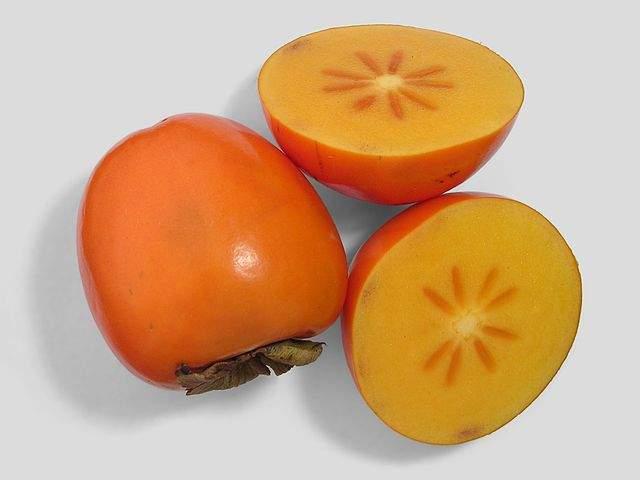 Frutas da América do Norte: Caqui Americano