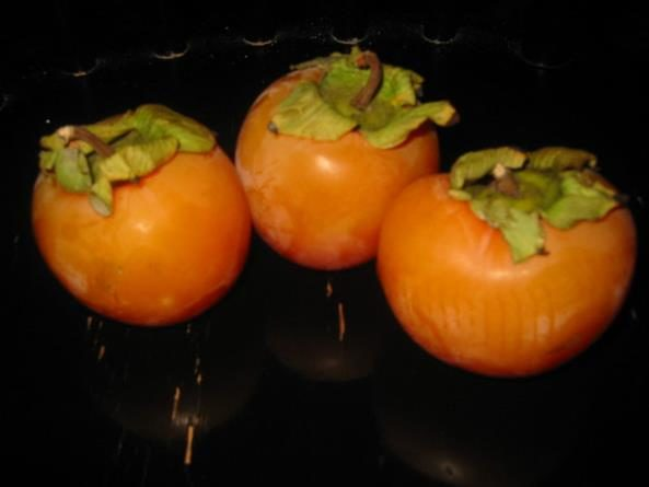 Frutas originárias da Ásia: Caqui