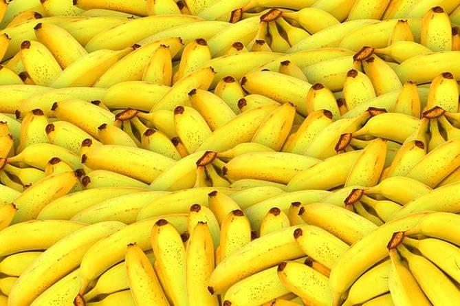 Frutas tropicais: Banana