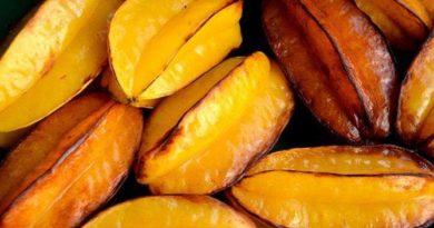 Frutas tropicais: Carambola
